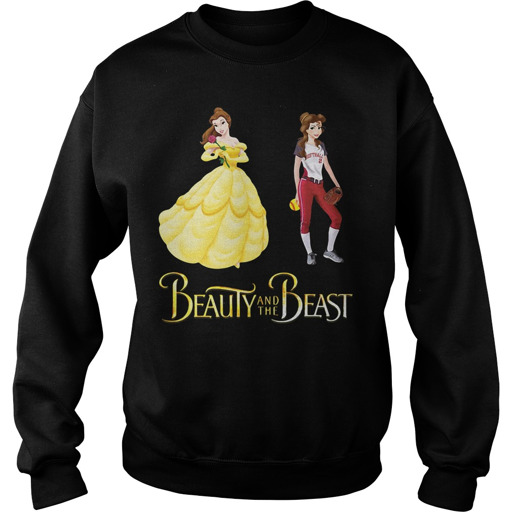 Beauty and the Beast Belle baseball sweater