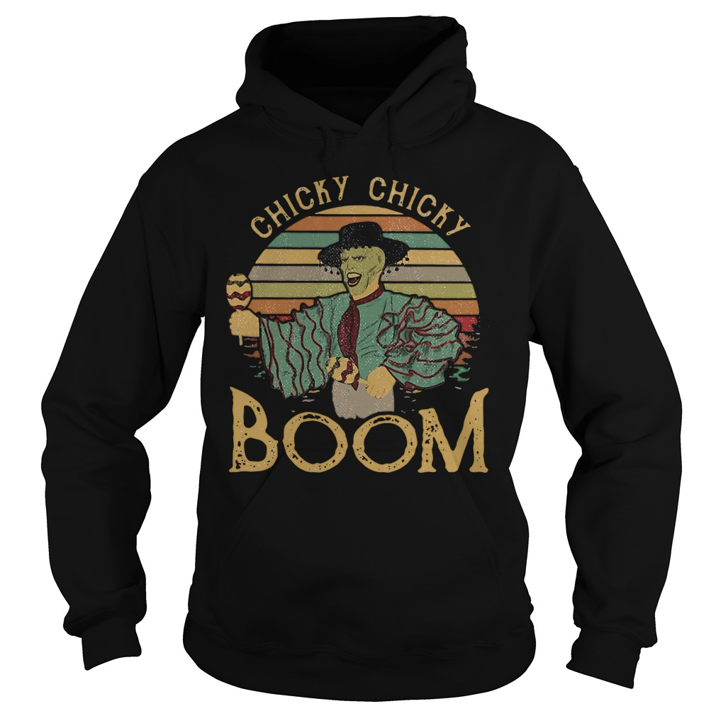 Cuban Pete Jim Carrey chicky chicky boom retro Hoodie