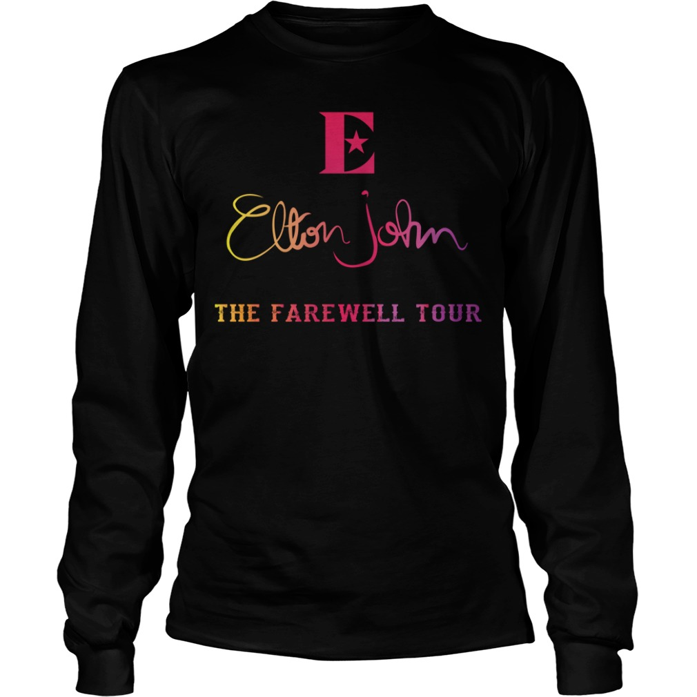 Elton John the farewell tour Longsleeve Tee