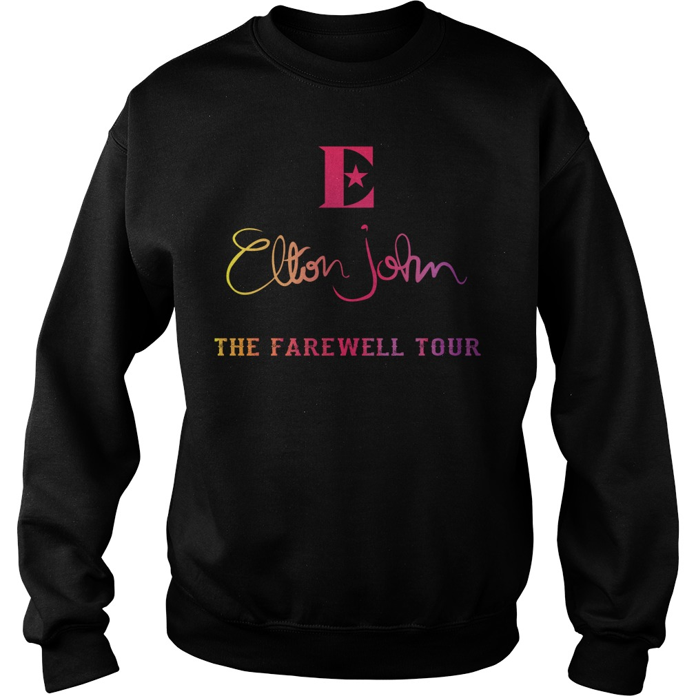 Elton John the farewell tour sweater