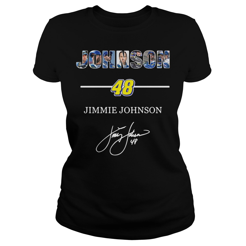 Johnson 48 Jimmie Johnson signature Ladies Tee