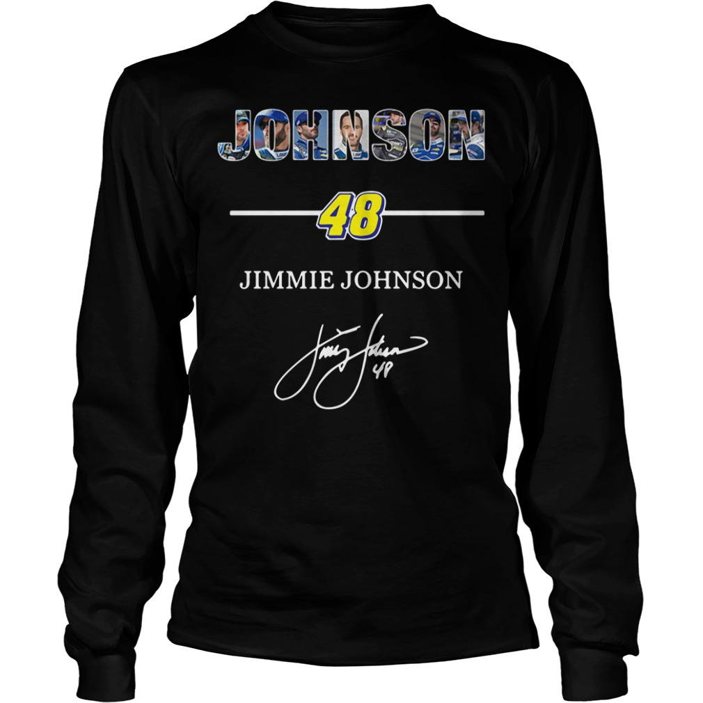 Johnson 48 Jimmie Johnson signature Longsleeve Tee