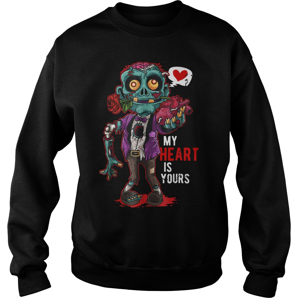 Zombie my heart is yours sweater