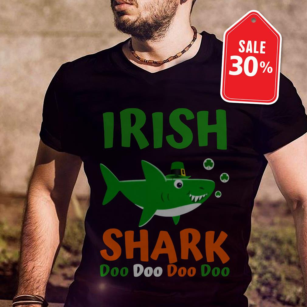 Irish shark doo doo doo doo shirt