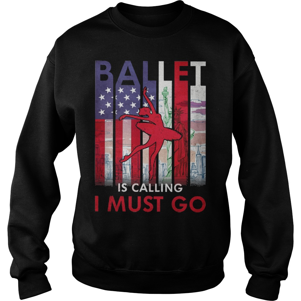 Ballet is calling I must go sweater