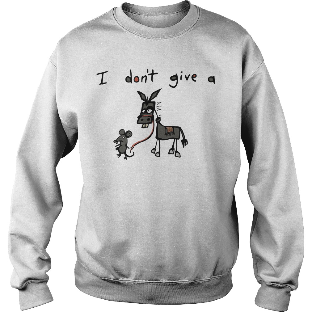 I don't give a rat donkey Sweater