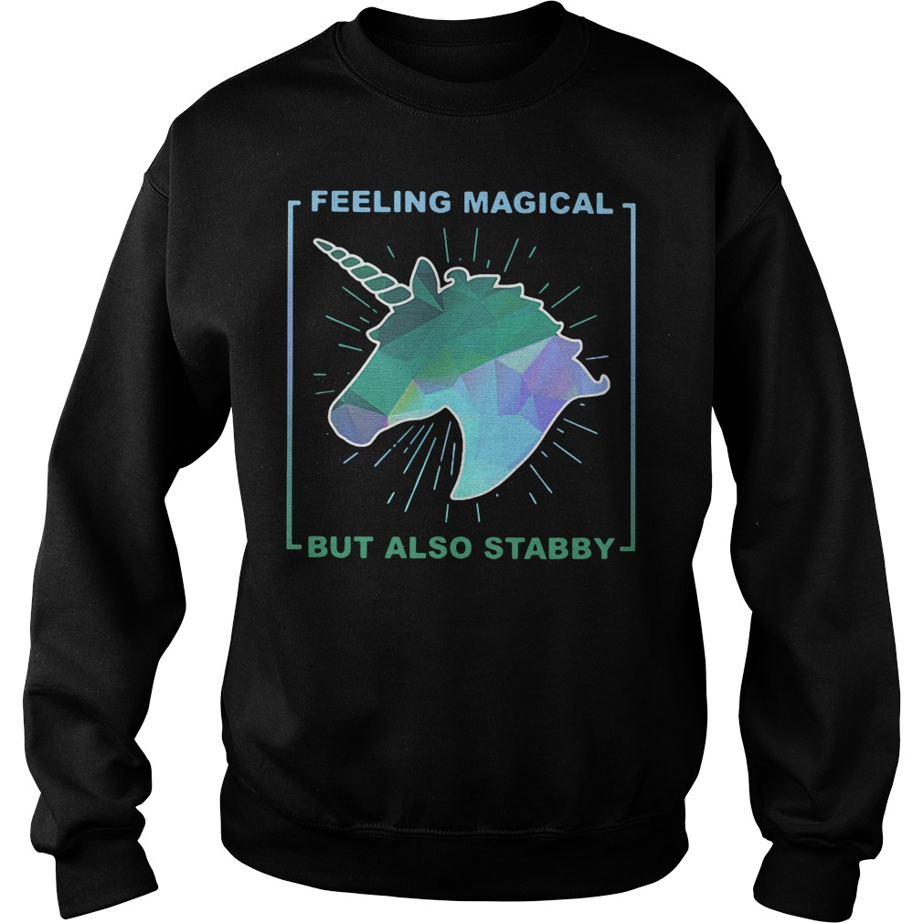 Feeling magical but also Stabby Sweater