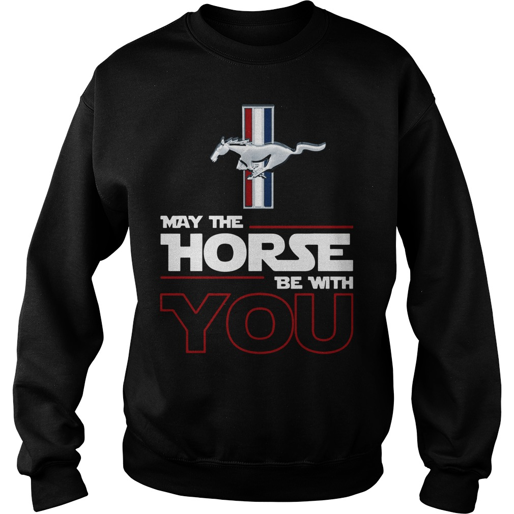 Ford Mustang May the Horse be with you Sweater