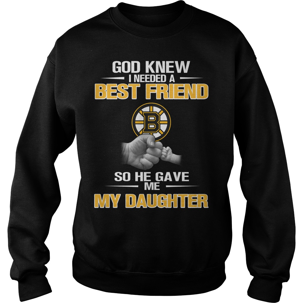 God knew I needed a best friend so he gave me my daughter sweater