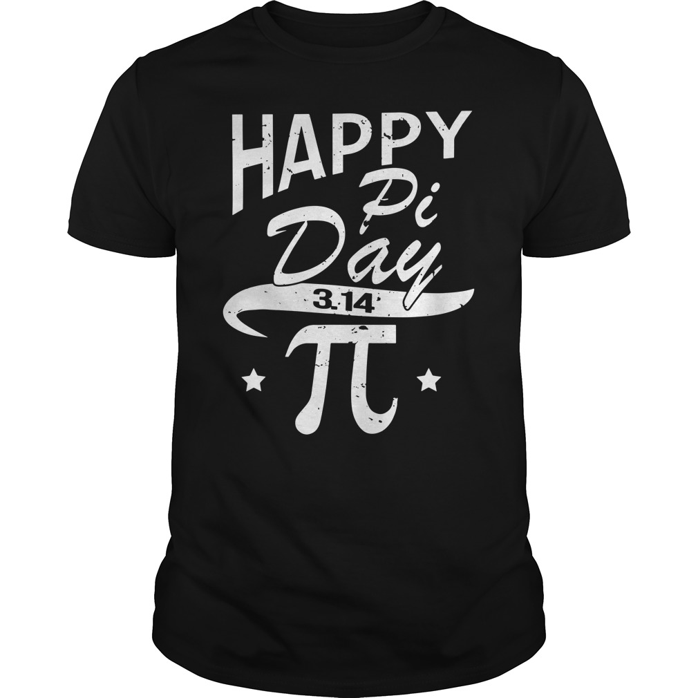 Happy pi day 3.14 shirt