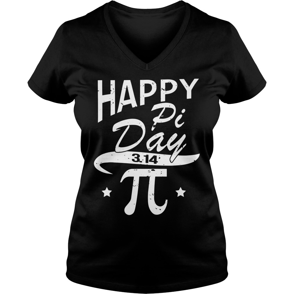 Happy pi day 3.14 V-neck T-shirt