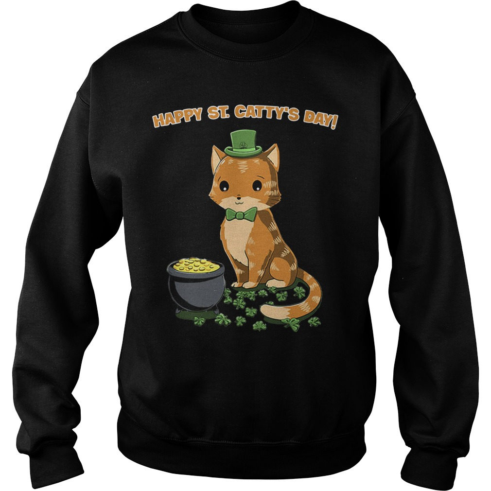 Happy St catty's day sweater