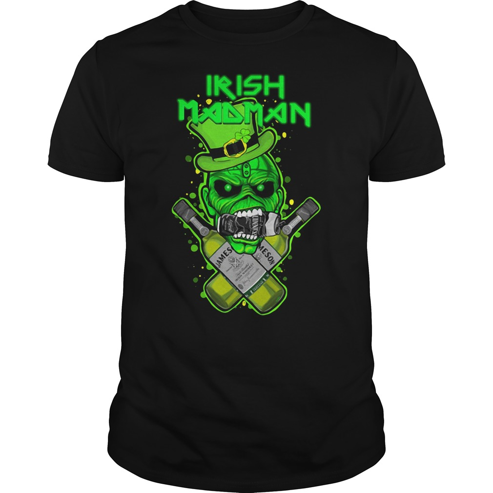Irish Madman Jameson Guys Shirt