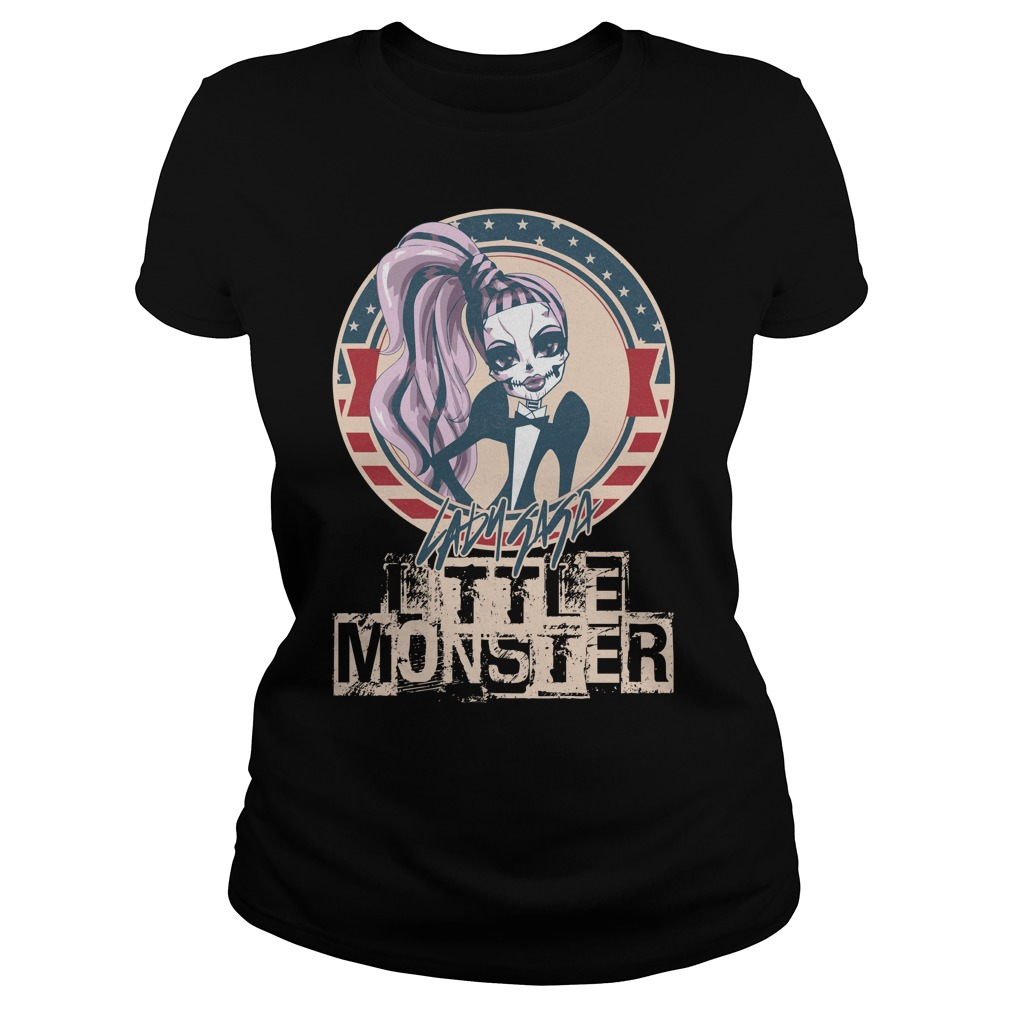 Lady Gaga little monster Ladies Tee