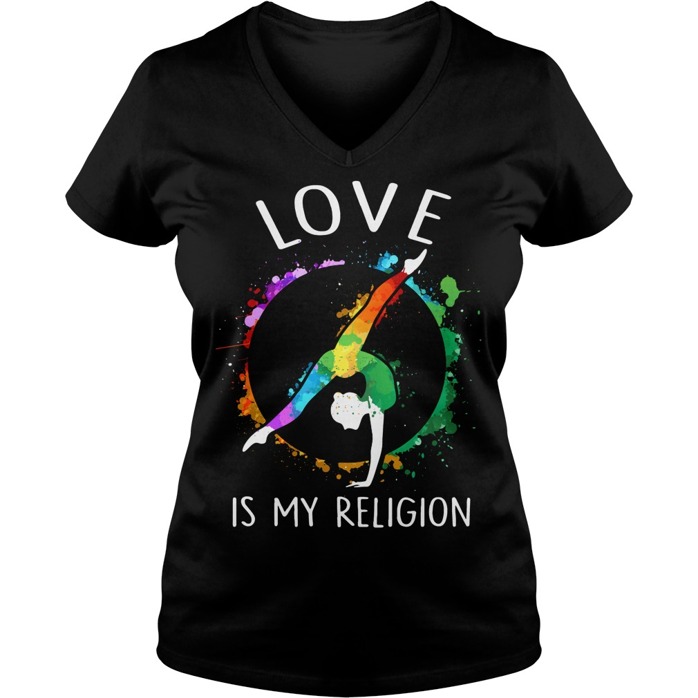 Love is my religion V-neck T-shirt