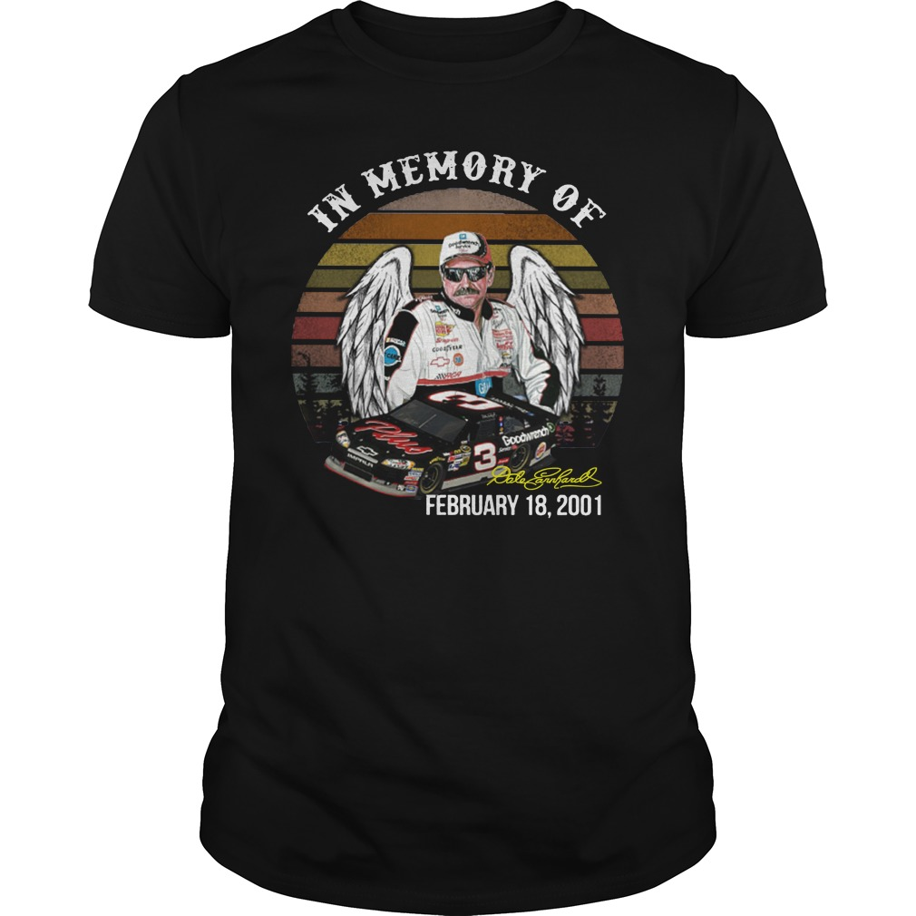 In memory of Ralph Dale Earnhardt shirt