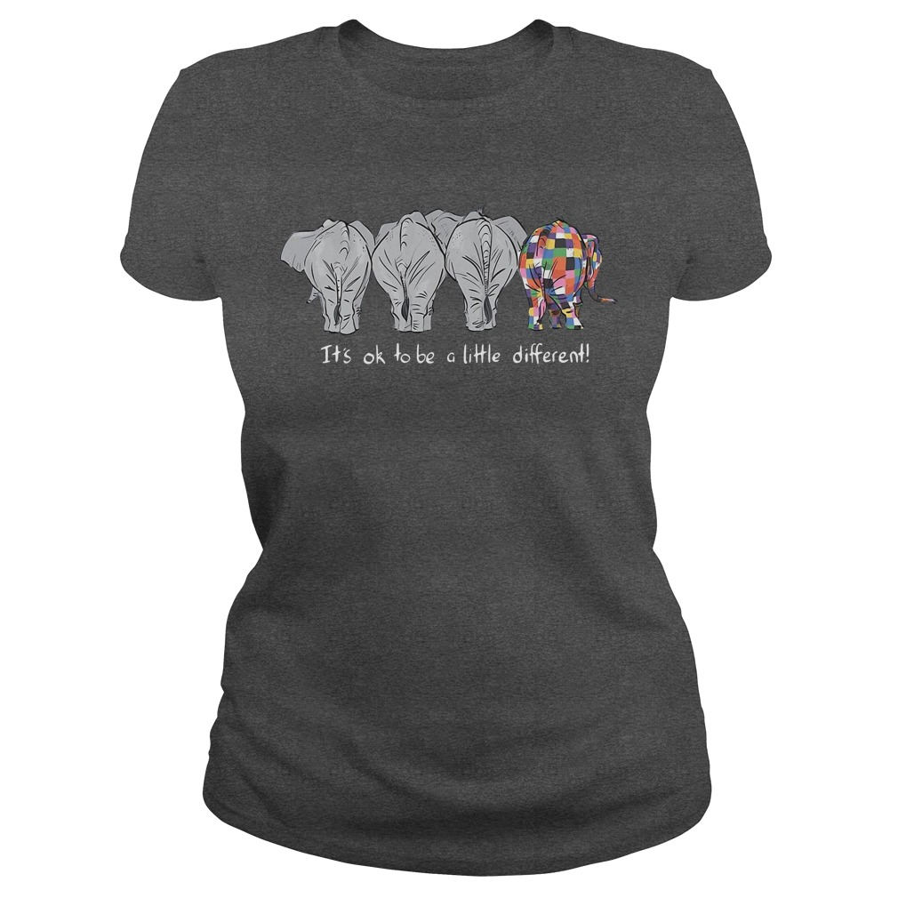 It's ok to be a little different Ladies Tee