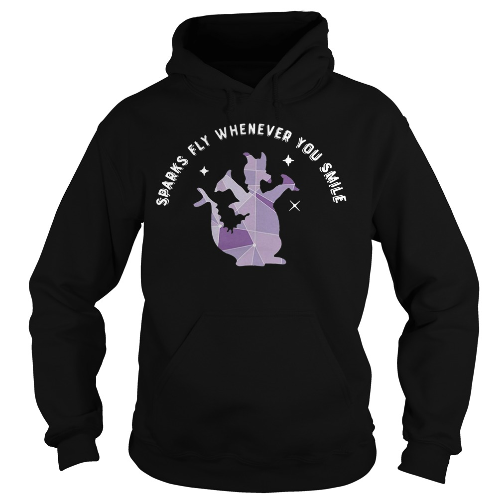 Sparks fly whenever you smile Hoodie