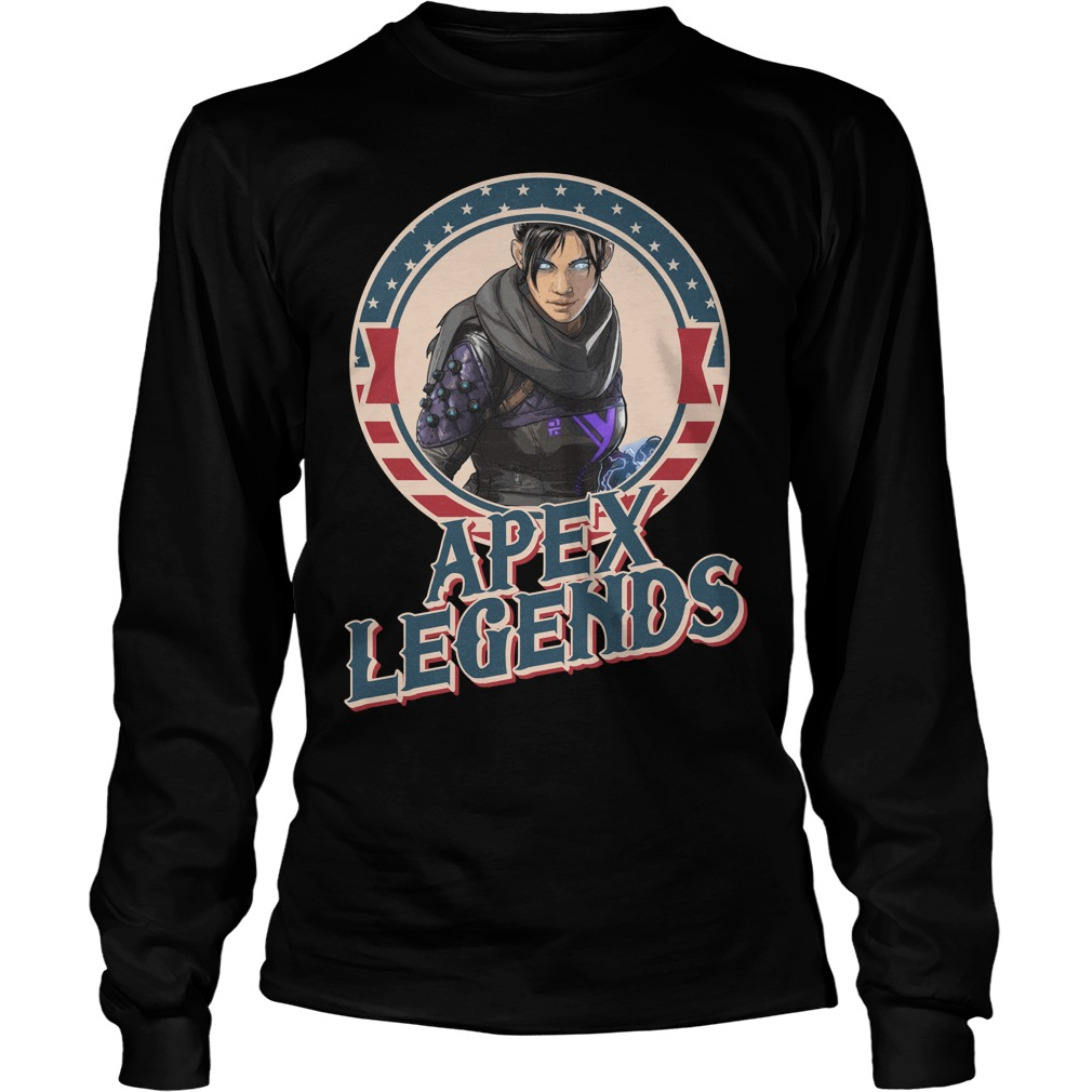 Wraith Apex legends Longsleeve Tee