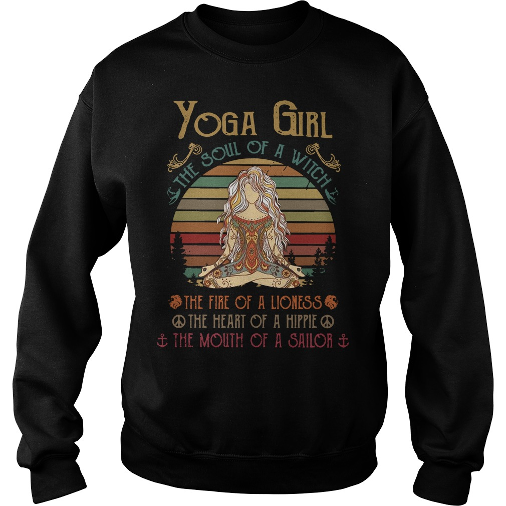 Yoga girl the soul of a witch Sweater