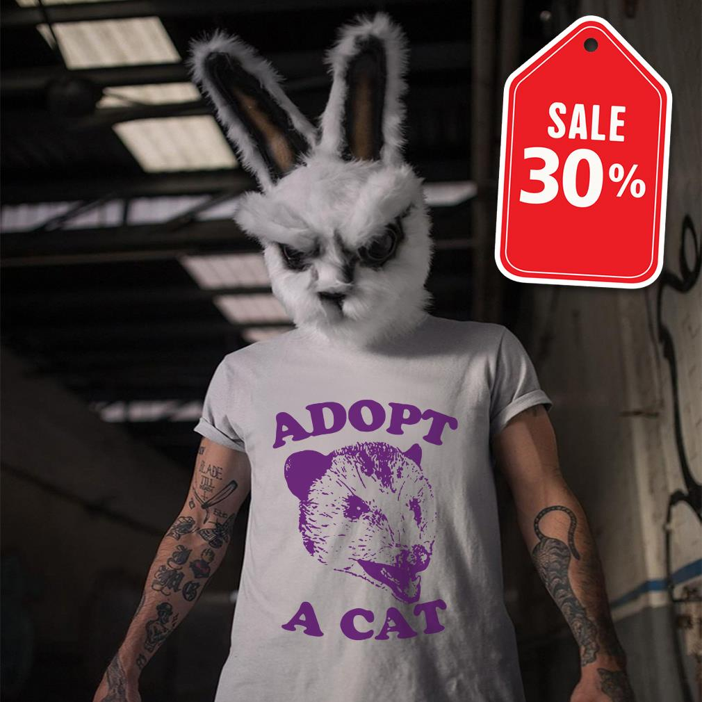 Official Adopt a cat shirt