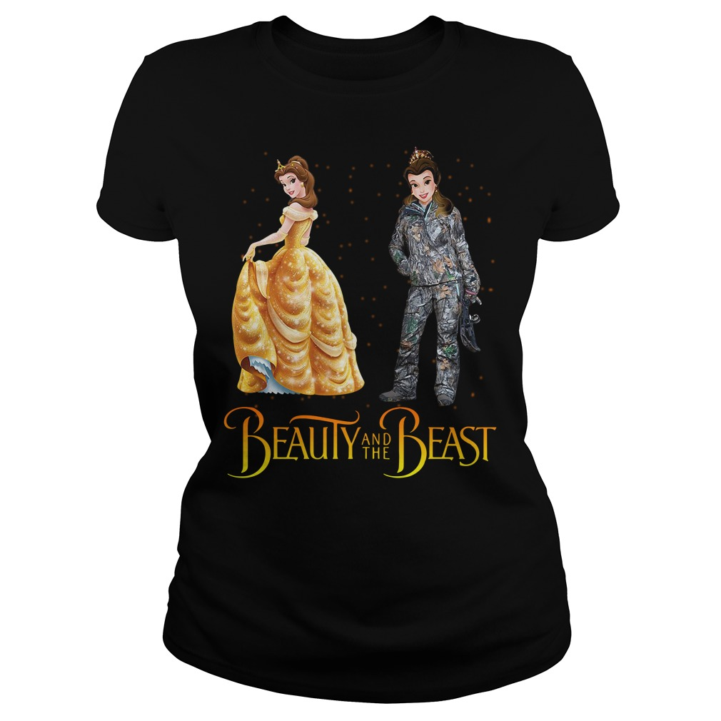 Beauty and the Beast Belle astronaut Ladies Tee