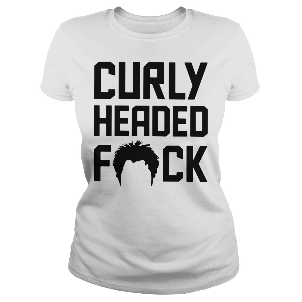 Ben Askren Curly headed fuck Ladies Tee