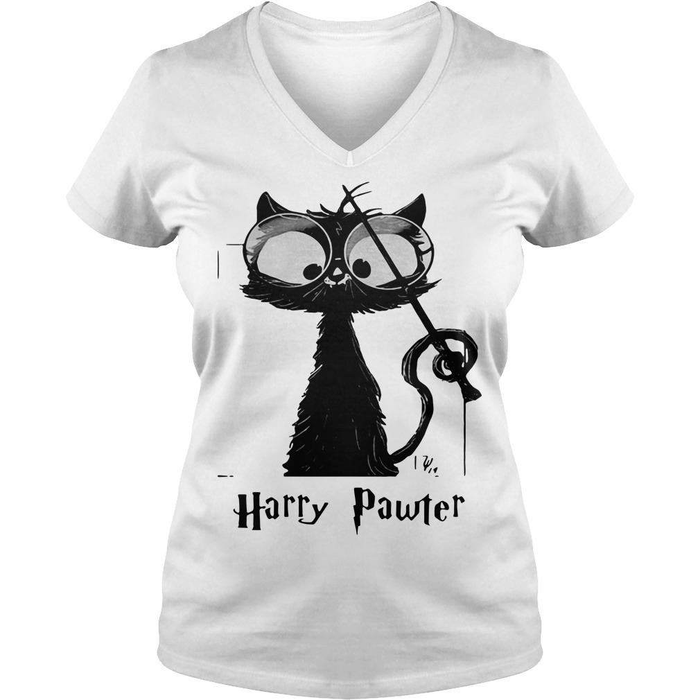 Black cat Harry Pawter Sweater