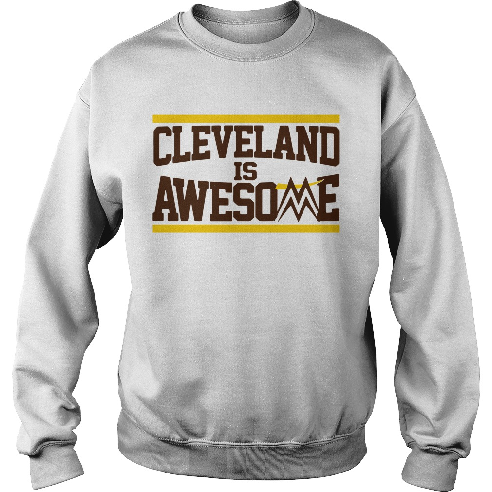 Cleveland is awesome Sweater