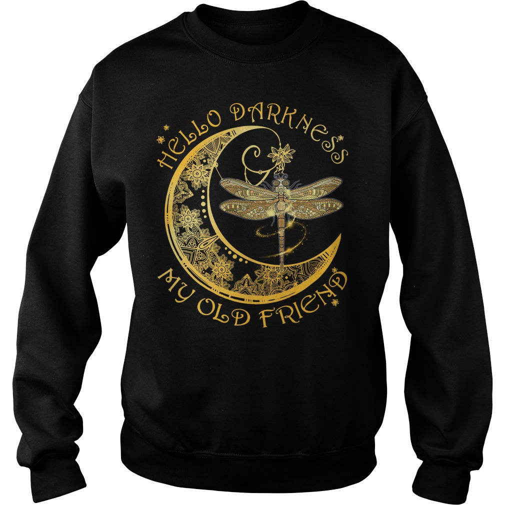 Dragonfly hello darkness my old friend Sweater