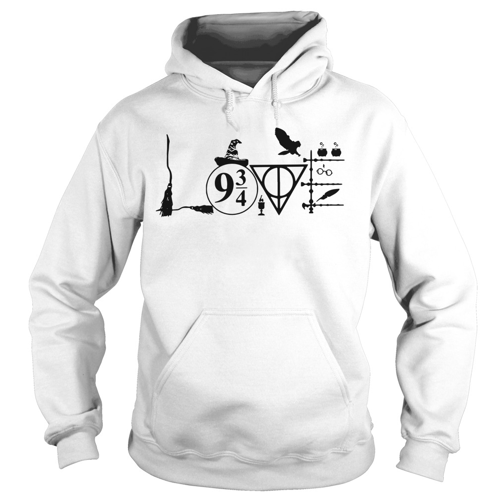 Harry Potter love Hoodie