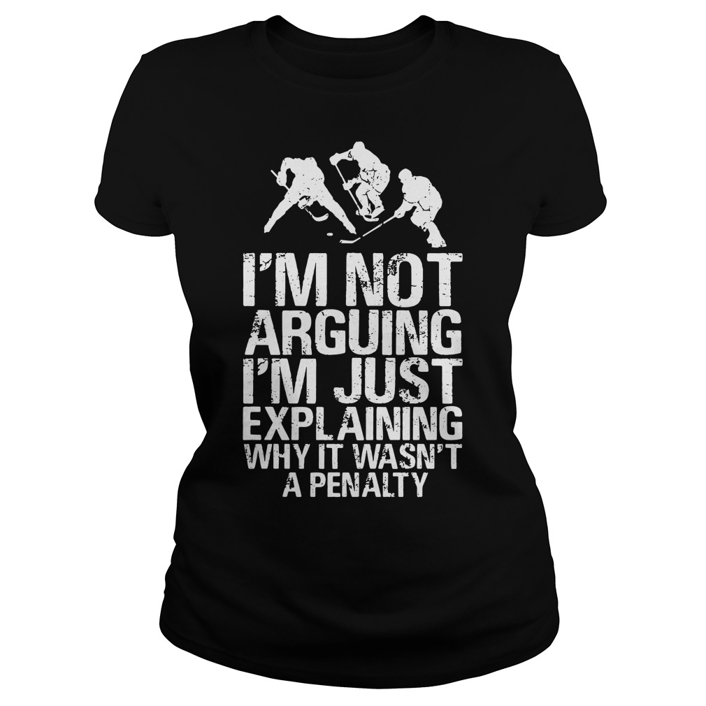 I'm not arguing I'm just explaining why it wasn't a penalty Ladies Tee