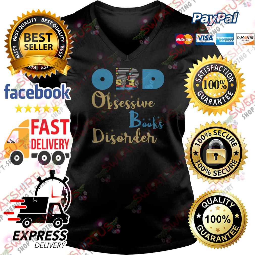 OBD obsessive brooks disorder V-neck T-shirt