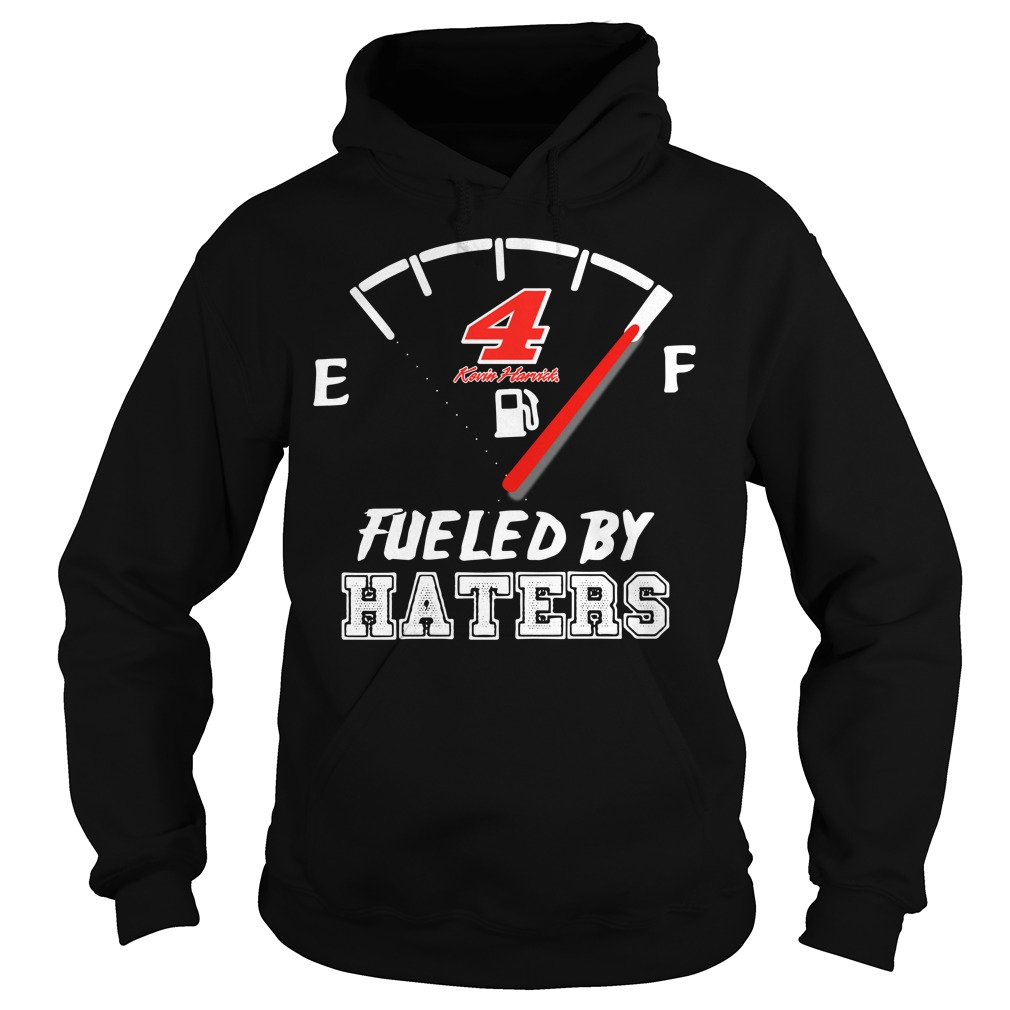 Official 4 Kevin Harvick fueled by haters Hoodie