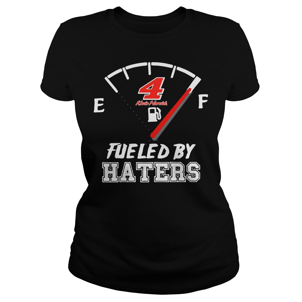 Official 4 Kevin Harvick fueled by haters Ladies Tee