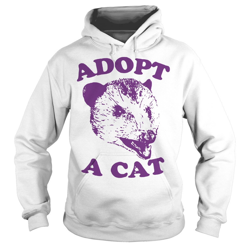 Official Adopt a cat Hoodie