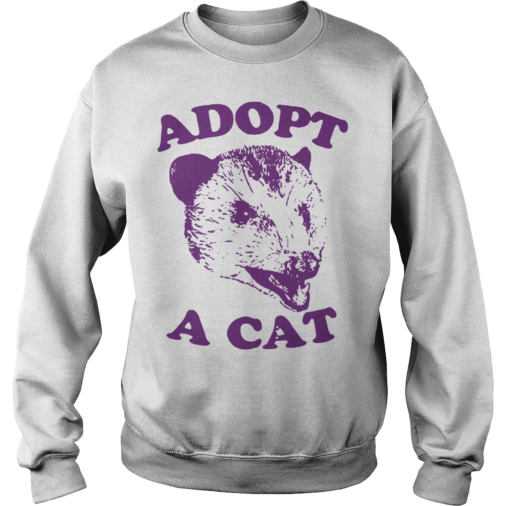Official Adopt a cat Sweater