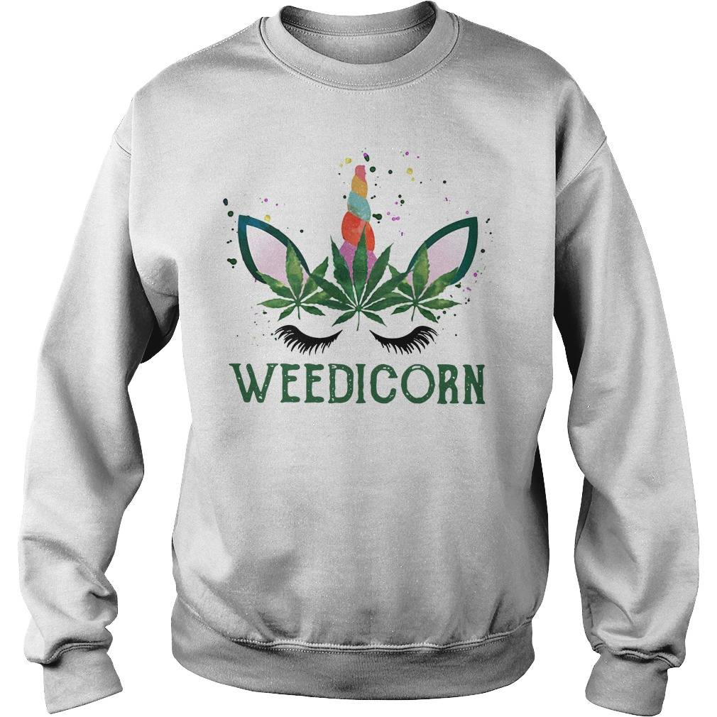 Official unicorn Weedicorn Sweater