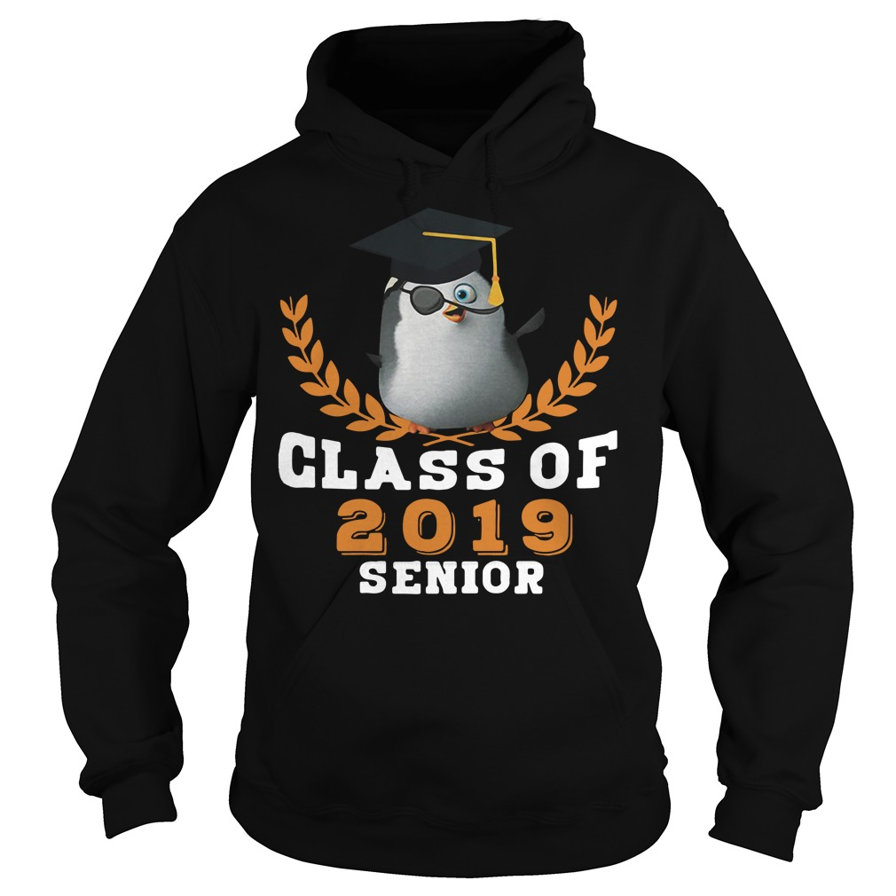 Penguin class of 2019 senior Hoodie
