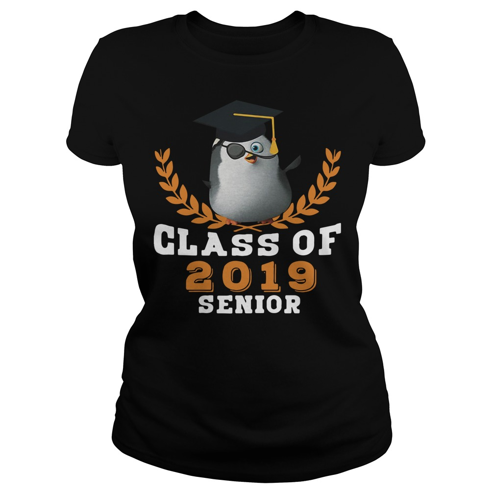 Penguin class of 2019 senior Ladies Tee