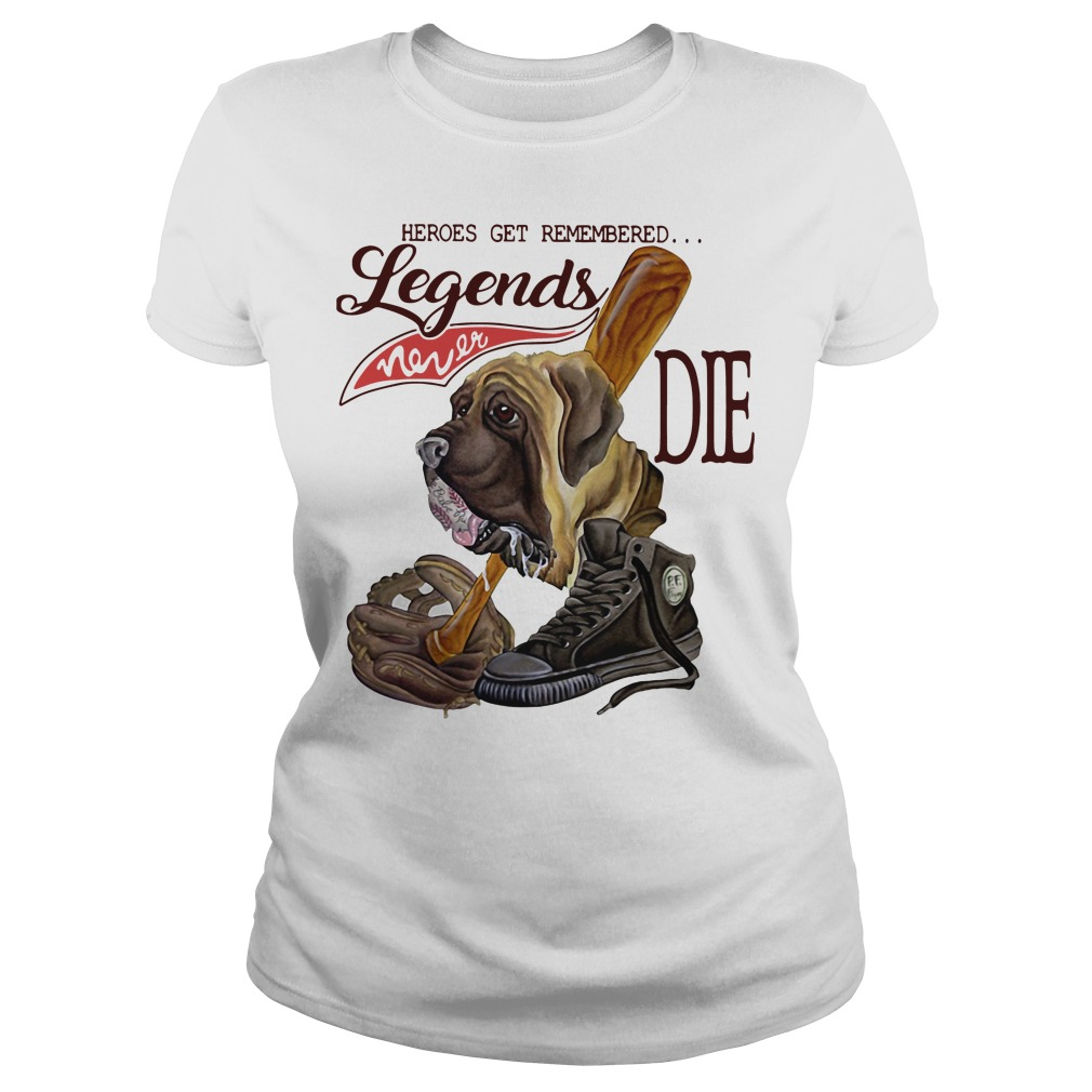 The Sandlot Heroes get remembered legends never die Ladies Tee