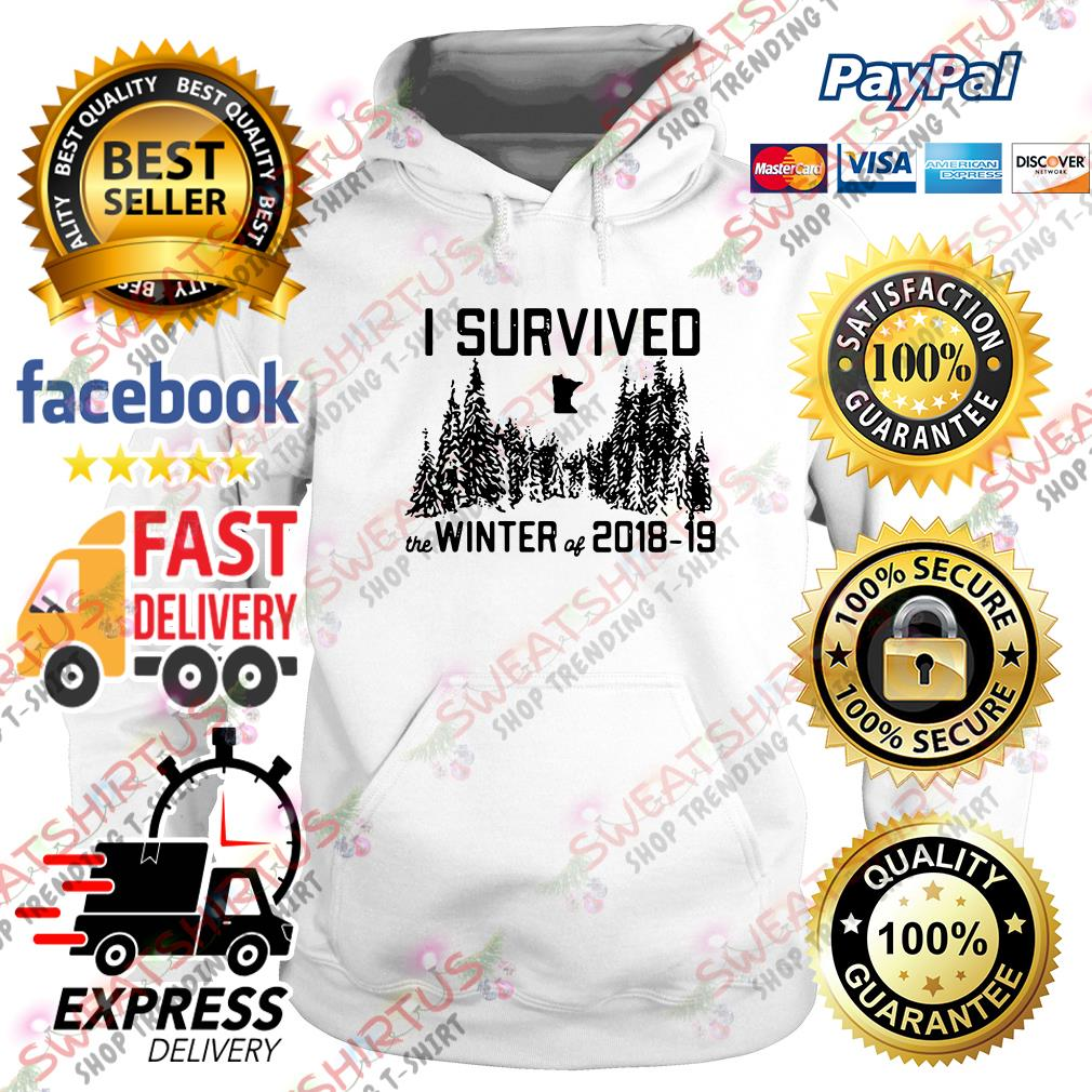 I survived the winter of 2018 19 Hoodie