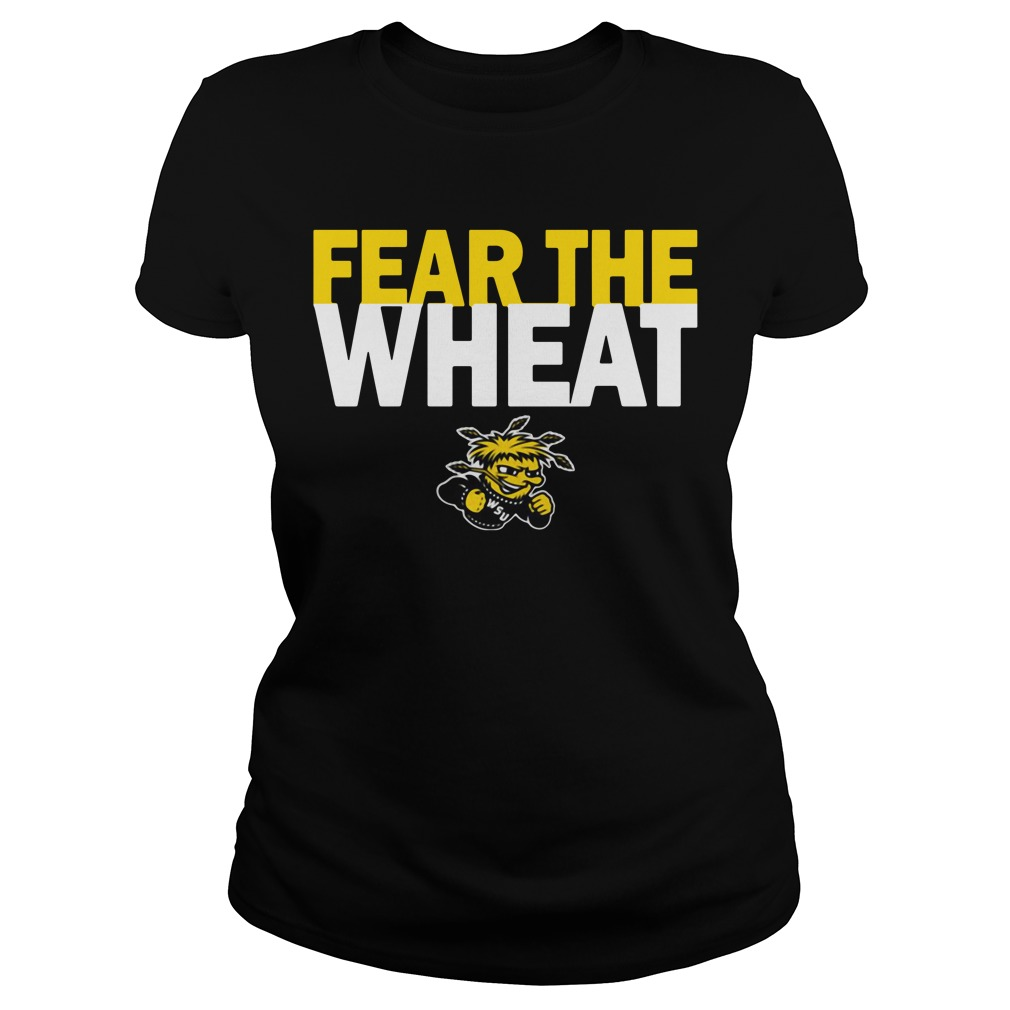 Wichita State Shockers Youth Fear the Wheat Ladies Tee