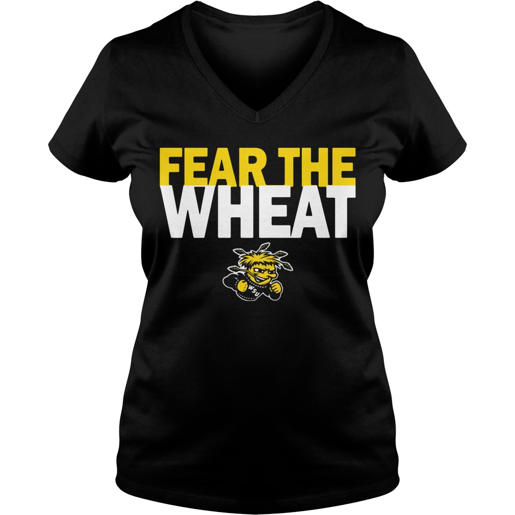 Wichita State Shockers Youth Fear the Wheat V-neck T-shirt