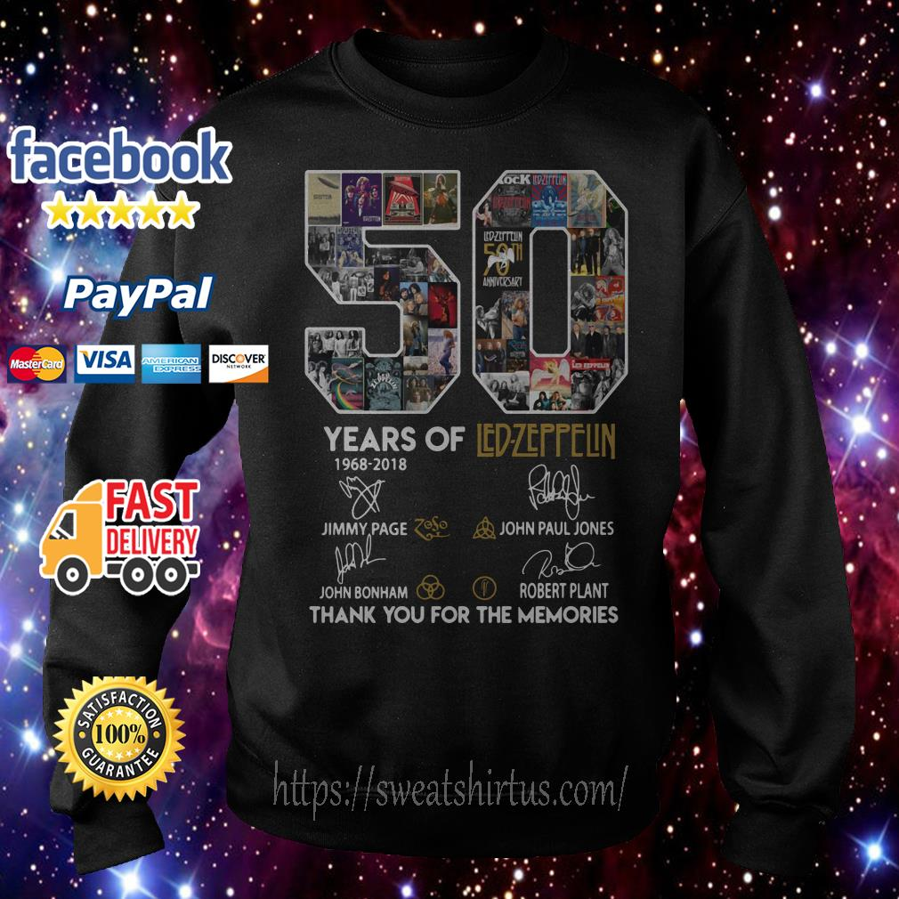 50 years of Led Zeppelin signature Sweater