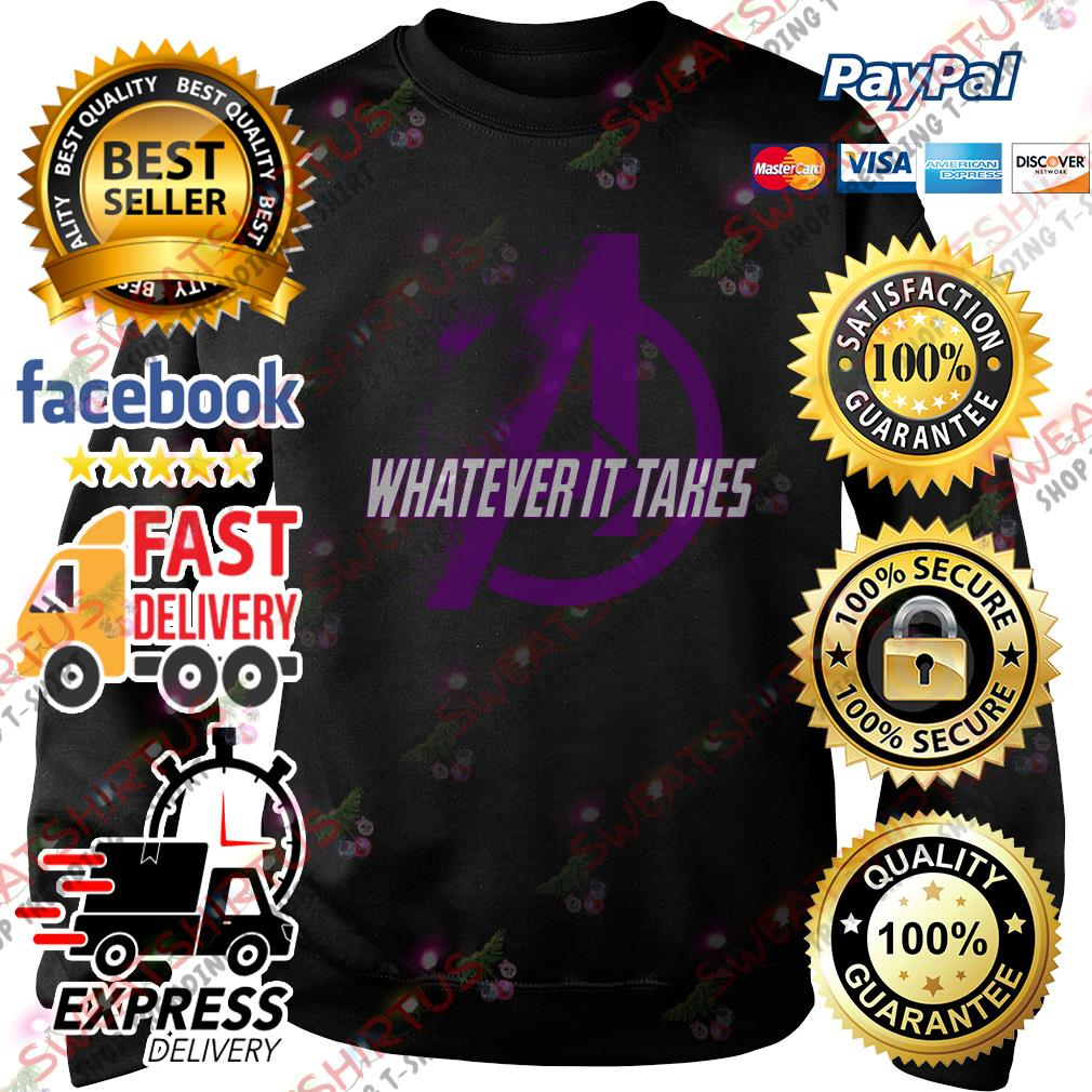 Avengers whatever it takes Sweater