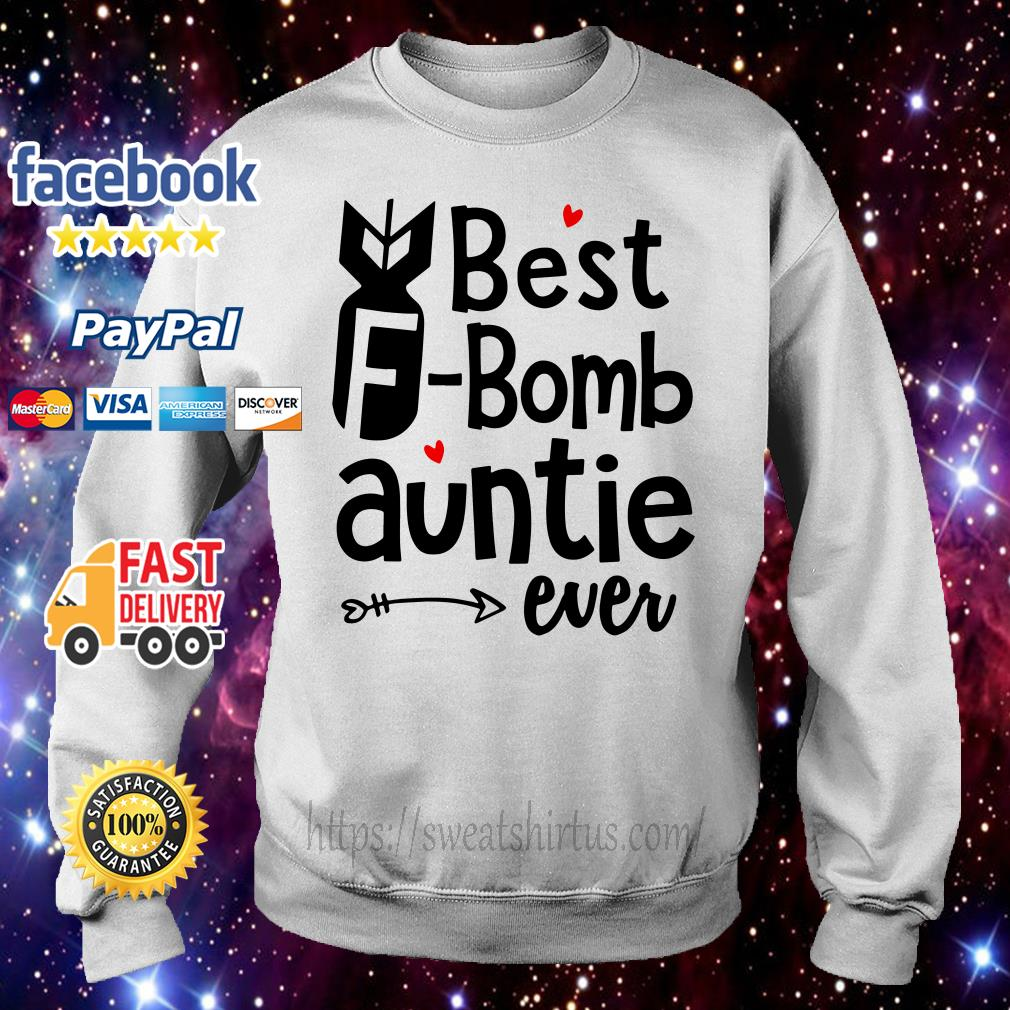 Best F Bomb auntie ever Sweater