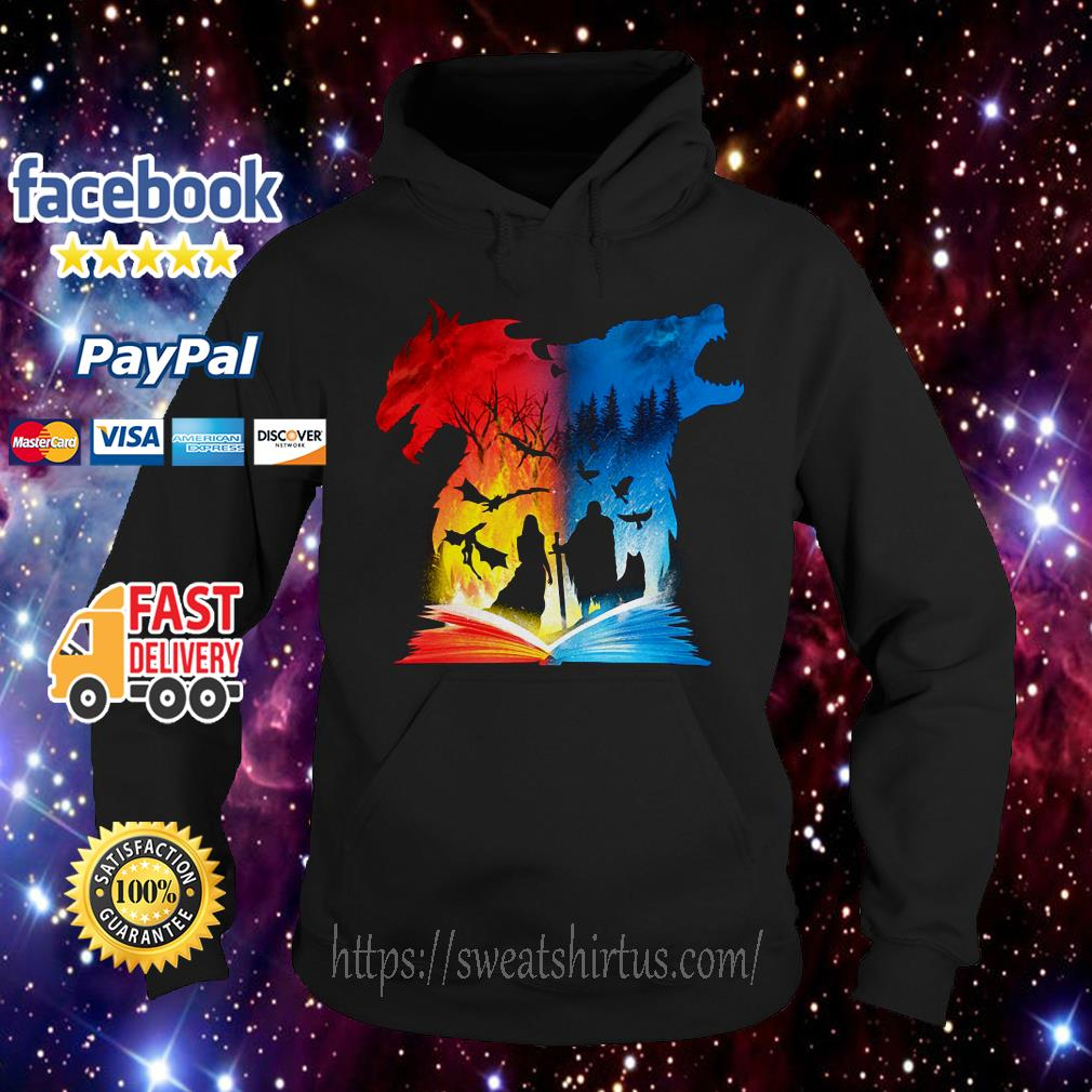 Book of fire and ice Game Of Thrones Hoodie