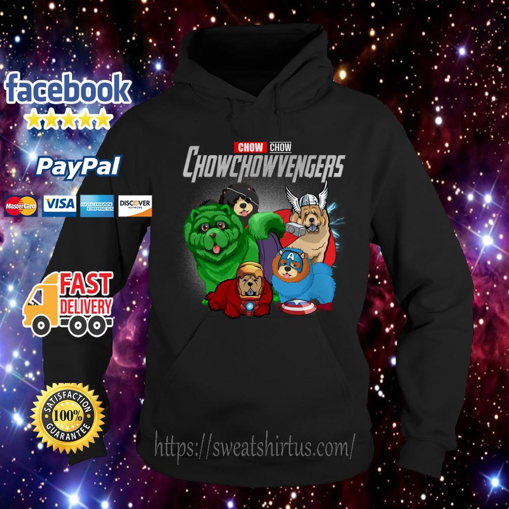 Marvel Avengers Endgame Chow Chow Avengers Hoodie