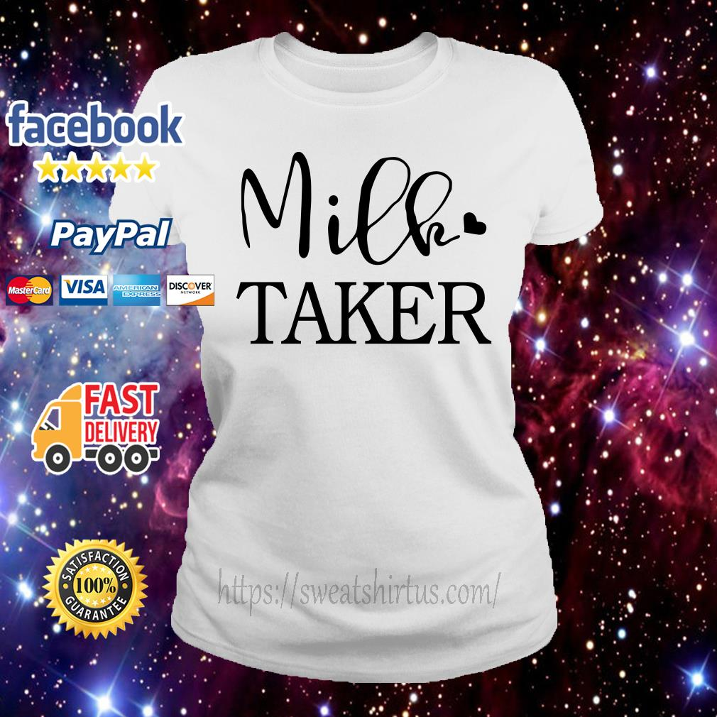 Official Milk taker Ladies Tee
